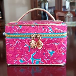 New Lilly Pulitzer Jewelry Train Case w/ handle